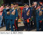 Купить «Ветераны на параде», фото № 2461993, снято 9 мая 2010 г. (c) Светлана Зарецкая / Фотобанк Лори
