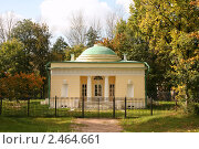 Купить «Усадьба Кузьминки. Банный домик», фото № 2464661, снято 26 сентября 2008 г. (c) Наталья Волкова / Фотобанк Лори