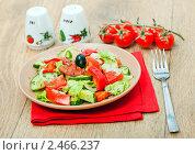 Купить «Овощной салат», фото № 2466237, снято 8 апреля 2011 г. (c) ElenArt / Фотобанк Лори