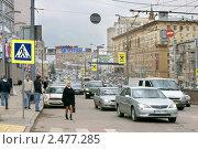 Купить «На Садовом  в часы пик», эксклюзивное фото № 2477285, снято 15 апреля 2011 г. (c) Валерия Попова / Фотобанк Лори