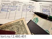 Купить «Оценки за деньги. Взятка», фото № 2480401, снято 6 апреля 2011 г. (c) Сергей Гребеньков / Фотобанк Лори