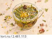 Купить «Лечебный травяной сбор», эксклюзивное фото № 2481113, снято 9 апреля 2011 г. (c) Давид Мзареулян / Фотобанк Лори