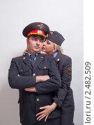 Купить «Милиционеры», фото № 2482509, снято 20 марта 2011 г. (c) Никита Вишневецкий / Фотобанк Лори