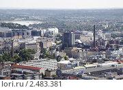 Купить «Вид на Тампере со смотровой башни», фото № 2483381, снято 6 августа 2009 г. (c) Андрей Ерофеев / Фотобанк Лори