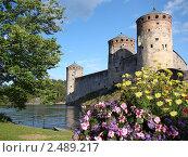 Крепость в Финляндии (2009 год). Стоковое фото, фотограф Серкова Татьяна / Фотобанк Лори
