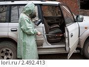 Химик-дозиметрист (2011 год). Редакционное фото, фотограф Сергей Вандин / Фотобанк Лори