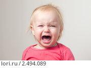 Купить «Плачущий ребенок», фото № 2494089, снято 8 октября 2010 г. (c) Бурков Андрей / Фотобанк Лори