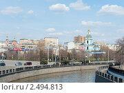Купить «Река Яуза. Москва», фото № 2494813, снято 24 апреля 2011 г. (c) E. O. / Фотобанк Лори