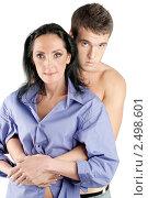 Купить «Юноша и взрослая женщина», фото № 2498601, снято 10 ноября 2010 г. (c) BestPhotoStudio / Фотобанк Лори