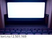 Купить «На экране кинотеатра», фото № 2501169, снято 19 апреля 2010 г. (c) Василий Козлов / Фотобанк Лори