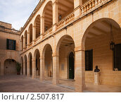 Купить «Дворец Сан Антонио. Аттард, Мальта», фото № 2507817, снято 14 декабря 2010 г. (c) Яков Филимонов / Фотобанк Лори