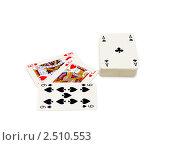 Купить «Игральные карты», фото № 2510553, снято 3 сентября 2010 г. (c) Татьяна Белова / Фотобанк Лори