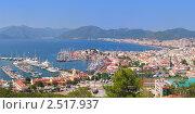 Панорама бухты Мармарис, Турция. Стоковое фото, фотограф Иван Полушкин / Фотобанк Лори