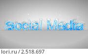 Купить «Слова Social Media, составленные из стеклянных осколков», иллюстрация № 2518697 (c) Арсений Герасименко / Фотобанк Лори