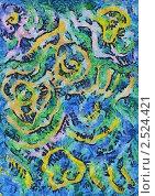 Весеннее небо. Стоковая иллюстрация, иллюстратор Фомченкова Юлия / Фотобанк Лори