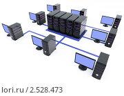 Купить «Компьютерная сеть», иллюстрация № 2528473 (c) Юдин Владимир / Фотобанк Лори