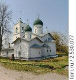 Купить «Никольская церковь в городе Острове Псковской области», фото № 2530077, снято 28 апреля 2011 г. (c) Валентина Троль / Фотобанк Лори