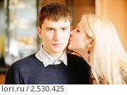 Купить «Влюбленная пара», фото № 2530425, снято 8 февраля 2009 г. (c) BestPhotoStudio / Фотобанк Лори