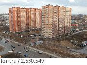 Город Долгопрудный, вид сверху (2011 год). Стоковое фото, фотограф Михаил Иванов / Фотобанк Лори