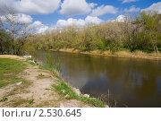 Купить «Река Калитва весной», фото № 2530645, снято 1 мая 2011 г. (c) Борис Панасюк / Фотобанк Лори