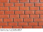 Кирпичная стена. Стоковое фото, фотограф А. А. Пирагис / Фотобанк Лори