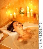 Девушка в ванной. Стоковое фото, фотограф Gennadiy Poznyakov / Фотобанк Лори