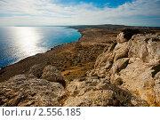 Купить «Вид на море со скал», фото № 2556185, снято 9 мая 2011 г. (c) Фадеева Марина / Фотобанк Лори