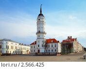 Купить «Ратуша в Могилеве, Беларусь», фото № 2566425, снято 23 апреля 2011 г. (c) Михаил Марковский / Фотобанк Лори