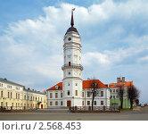 Ратуша в Могилеве, Беларусь, фото № 2568453, снято 23 апреля 2011 г. (c) Михаил Марковский / Фотобанк Лори