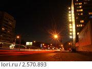 Ночной Баранул (2010 год). Редакционное фото, фотограф Дмитрий Глухов / Фотобанк Лори