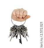 Купить «Связка ключей», фото № 2572021, снято 20 мая 2019 г. (c) Marina Appel / Фотобанк Лори