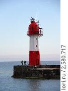 Створной знак сочинского морского порта (2011 год). Стоковое фото, фотограф Марина Трудова / Фотобанк Лори