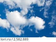 Купить «Облачное небо», фото № 2582889, снято 3 июня 2011 г. (c) А. А. Пирагис / Фотобанк Лори