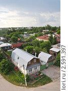 Купить «Вид с минарета Ханской мечети в городе Касимове», фото № 2591397, снято 11 июня 2011 г. (c) Юлия  Лесина / Фотобанк Лори