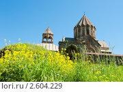 Купить «Монастырь Гандзасар. Нагорный Карабах», фото № 2604229, снято 10 июня 2011 г. (c) Екатерина Овсянникова / Фотобанк Лори