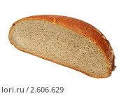 Купить «Ломоть черного хлеба», фото № 2606629, снято 15 августа 2018 г. (c) Миленин Константин / Фотобанк Лори