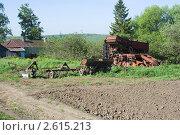 Купить «Сельскохозяйственная техника», фото № 2615213, снято 28 мая 2011 г. (c) Зобков Георгий / Фотобанк Лори