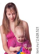 Мама играет с маленькой дочерью. Стоковое фото, фотограф Камалетдинов Ринат Хусаенович / Фотобанк Лори