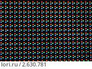 Купить «Фон из светодиодов трех цветов», фото № 2630781, снято 30 июня 2011 г. (c) Анна Мартынова / Фотобанк Лори