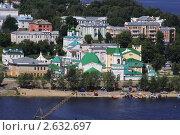 Купить «Свято-троицкий мужской монастырь», фото № 2632697, снято 1 июля 2011 г. (c) Рыжов Андрей / Фотобанк Лори