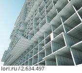 Купить «Каркас недостроенного здания», иллюстрация № 2634497 (c) Юрий Бельмесов / Фотобанк Лори