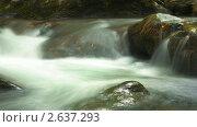 Купить «Горная река. Таймлапс», видеоролик № 2637293, снято 18 октября 2010 г. (c) ILLYCH / Фотобанк Лори