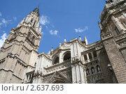 Купить «Фрагмент кафедрального собора в Толедо, Испания», фото № 2637693, снято 12 сентября 2005 г. (c) Солодовникова Елена / Фотобанк Лори