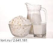 Купить «Молочные продукты», фото № 2641181, снято 3 августа 2007 г. (c) Величко Микола / Фотобанк Лори