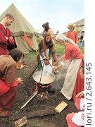 Купить «Верные жены готовят еду для своих рыцарей. Абалак», фото № 2643145, снято 2 июля 2011 г. (c) Анатолий Матвейчук / Фотобанк Лори