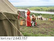Купить «Девушка из средневековья», фото № 2643157, снято 2 июля 2011 г. (c) Анатолий Матвейчук / Фотобанк Лори