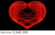 Купить «Сердце из тонких линий», видеоролик № 2645309, снято 7 февраля 2010 г. (c) Арсений Герасименко / Фотобанк Лори