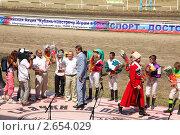 Награждение победителя (2010 год). Редакционное фото, фотограф Межерицкая Юлия Сергеевна / Фотобанк Лори
