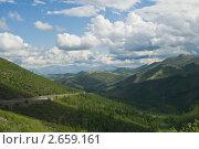 Бархалинский перевал, Магаданская область. Стоковое фото, фотограф Владимир Сидорович / Фотобанк Лори