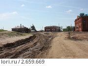 Сельская разбирая дорога (2011 год). Стоковое фото, фотограф Андрианов Владислав / Фотобанк Лори